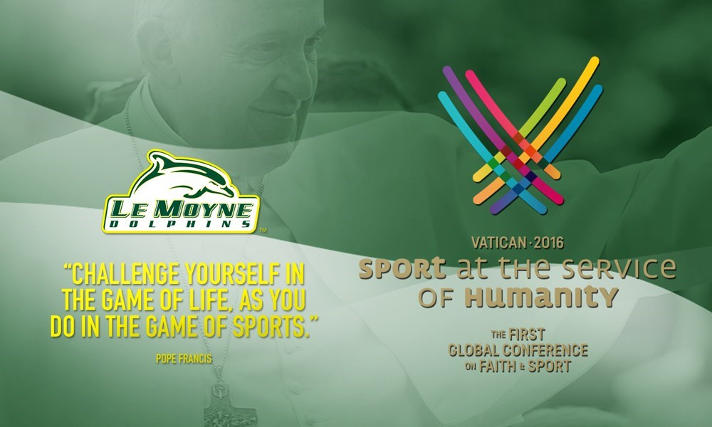 BASSETT EARNS INVITATION TO ATTEND VATICAN CONFERENCE ON FAITH AND SPORT - Le Moyne College Athletics